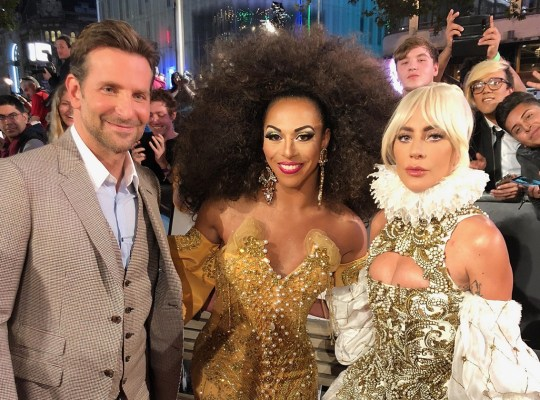 bradley cooper star born drag queen