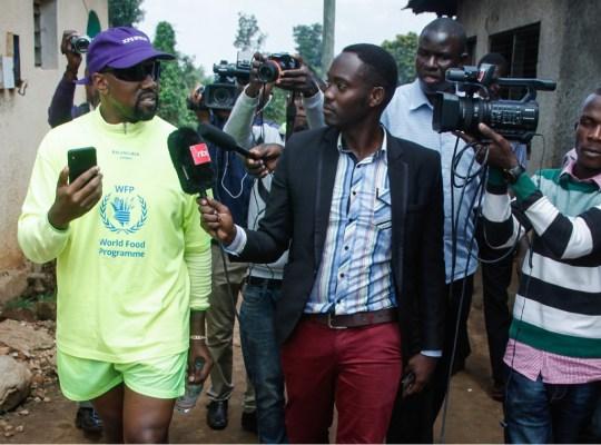 kanye west orphans uganda shoes scandal