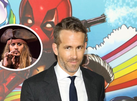 ryan reynolds pirates caribbean reboot