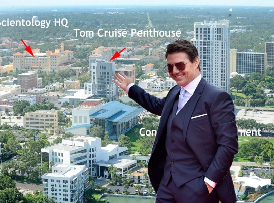 tom cruise scientology florida clearwater
