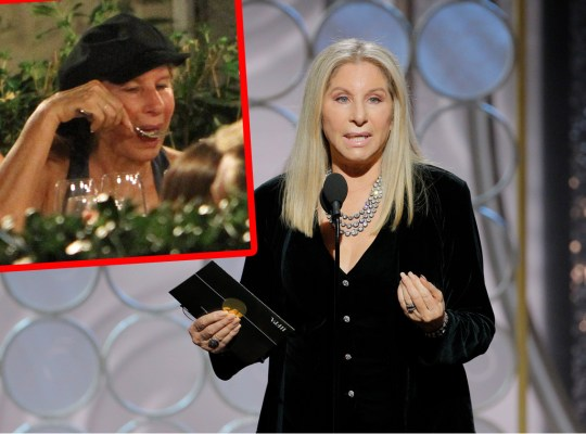 barbra streisand eating health scare