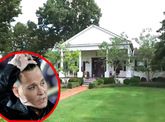 johnny depp kentucky home evict sister