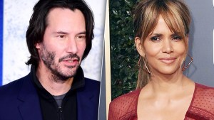 Halle Berry crushing on Keanu Reeves