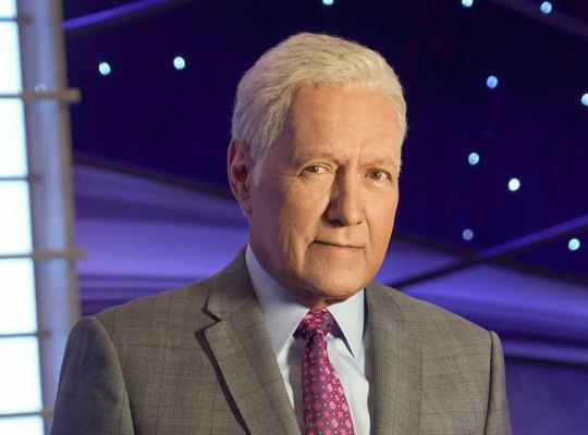 Alex Trebek Host Of JEOPARDY