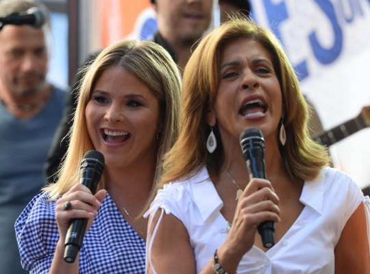 """Today"" are looking to add a ""famous"" personality to join Hoda Kotb and Jenna Bush as hosts"