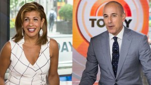 Hoda Kotb Still Talks To Matt Lauer