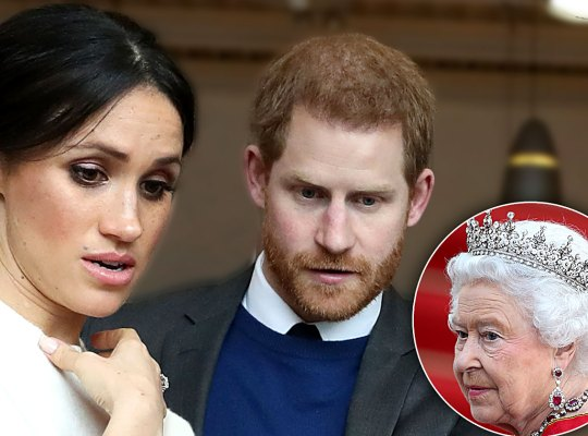 Queen Elizabeth Vetoes Meghan Markle and Prince Harry's Independence Proposition