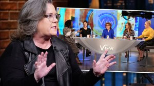 Rosie O'Donnell Slams 'The View' Co-Hosts