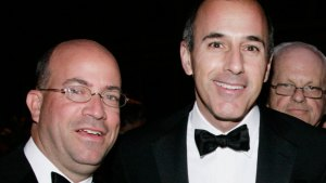 Matt Lauer and Jeff Zucker