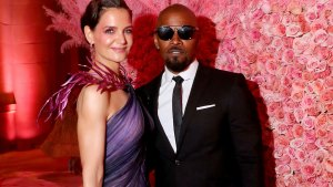 Jamie Foxx and Katie Holmes Finally Make Romance Official at Met Gala