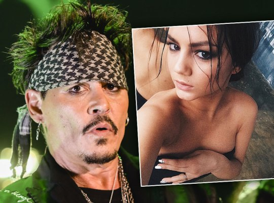 Johnny Depp's New Girlfriend Was Obsessed Teen Fan