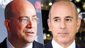Jeff Zucker Denies Rumors Matt Lauer Is Joining CNN