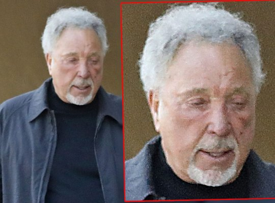 Zombie Tom Jones Working Himself To Death