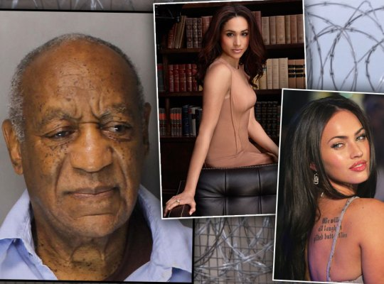 Bill Cosby Covers Cell With Pics of TV Babes