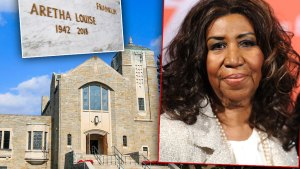 Aretha Franklin Sons Are A No-Show One-Year Anniversary Of Her Death!
