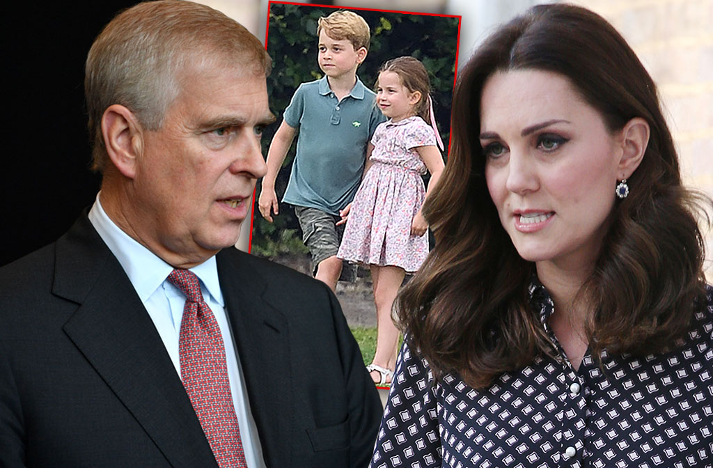Duchess Kate Orders Prince Andrew Stay Away From My Kids