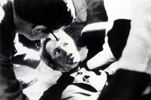 Robert F. Kennedy after being shot in Los Angeles, June 5, 1968