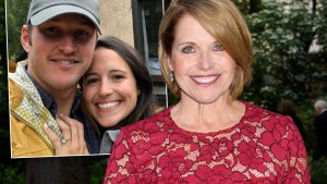Katie Couric Too Weighty For Daughter's Wedding