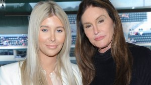 Smiling Sophia Hutchins and Smiling Caitlyn Jenner
