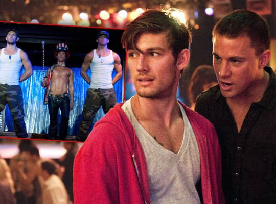 Alex Pettyfer Blames Channing For Stalled Career