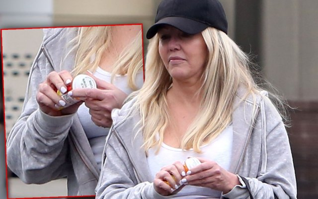 Heather Locklear Caught Popping Pills