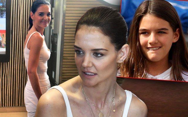 Lovelorn Katie Holmes Wasting Away - Suri Cruise Fears For Mom