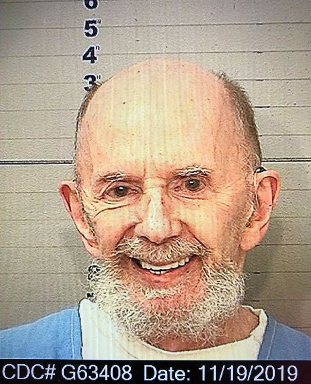 producer Phil Spector is seen sporting a beard in a new jailhouse mugshot.