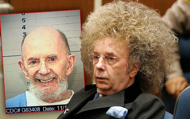 Phil Spector's Losing His Hair And His Mind!