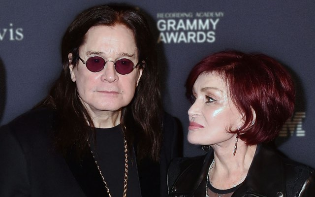 Ozzy Osbourne and Wife Sharon Osbourne