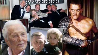 Kirk Douglas Left $80M Fortune To Charity - His Kids Got Nothing!