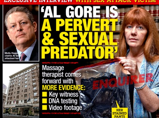 NEW EVIDENCE REVEALED:  GORE SEX SCANDAL VICTIM TELLS ALL!!! thumbnail