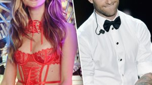 Behati Prinsloo Drives Hubby Adam Levine Crazy! thumbnail