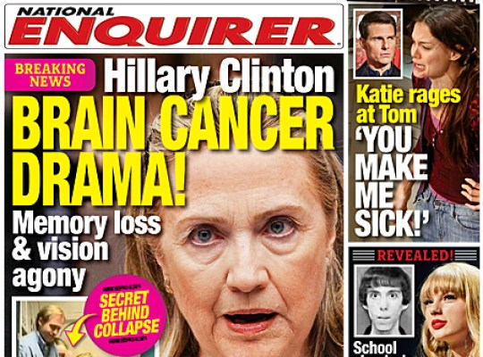 LATEST! HILLARY CLINTON CONFIRMS BRAIN CRISIS thumbnail