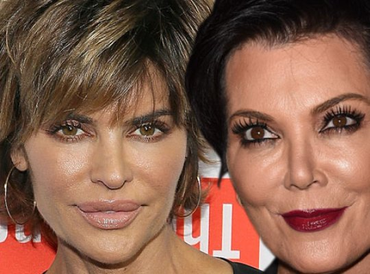 Lisa Rinna and Kris Jenner