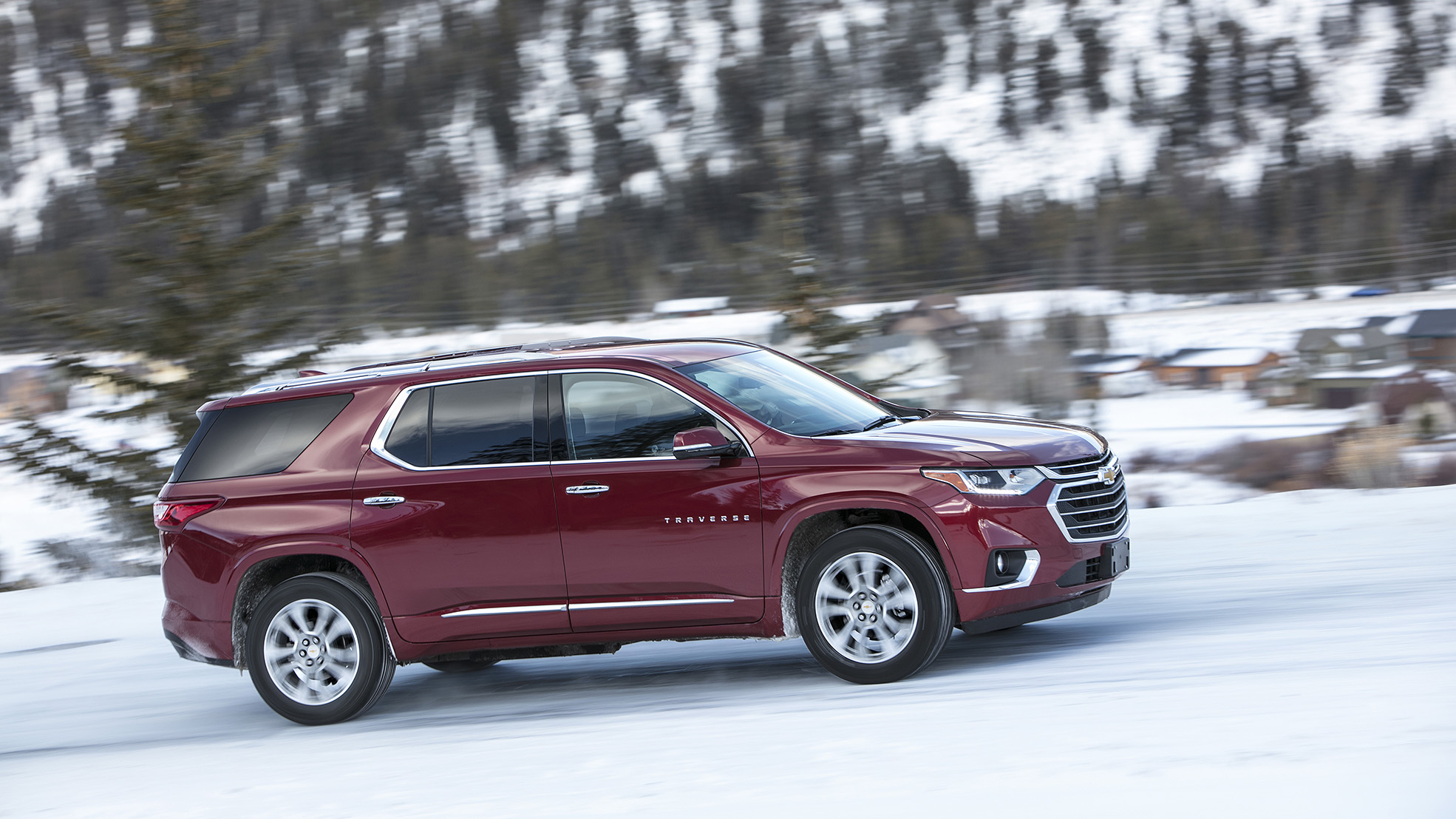 Skiers Have You Ever Considered Chevrolet For Driving In The Snow