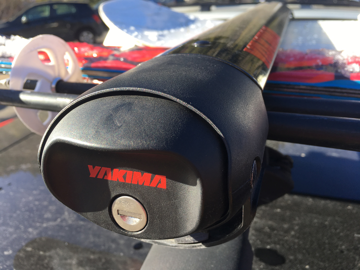 a ski rack for your car