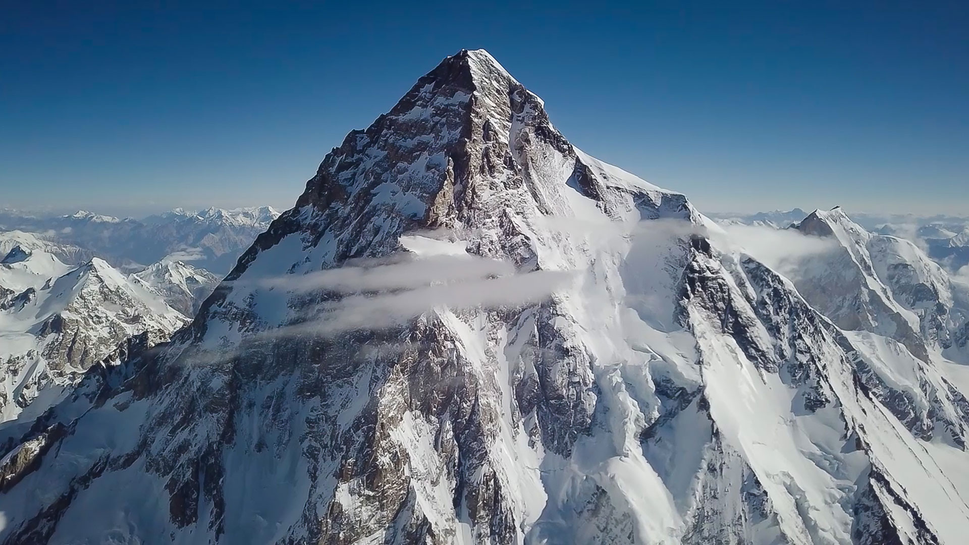Polish Mountaineer Makes First Successful Ski Descent Of K2 Powder
