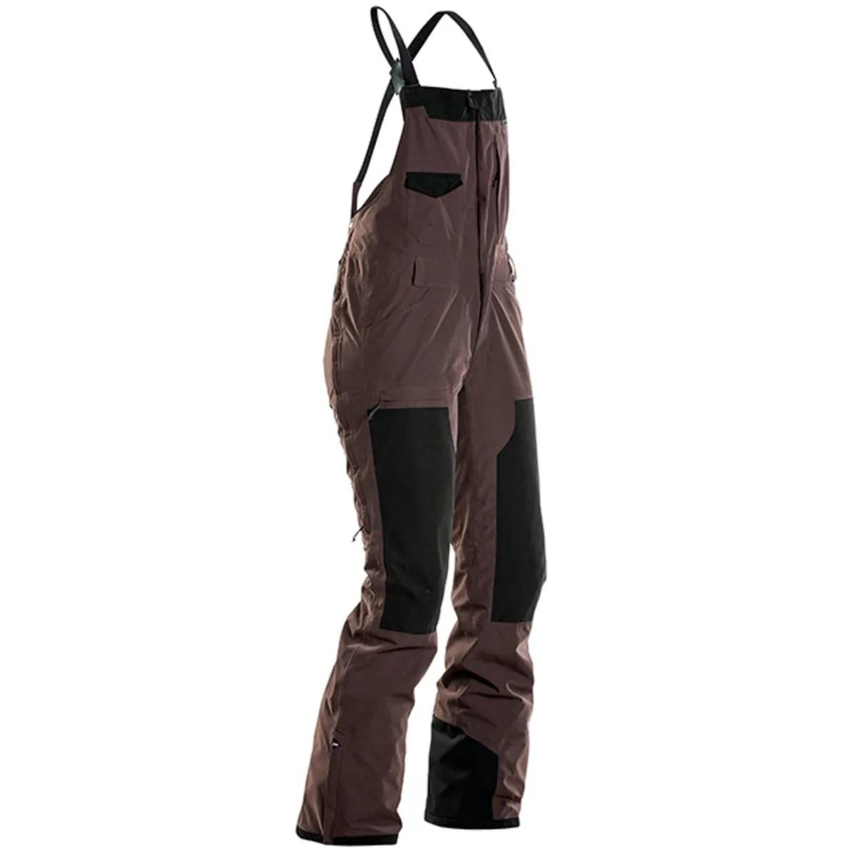 Womens Insulated Snow Pants Waterproof Windproof Ski Bibs
