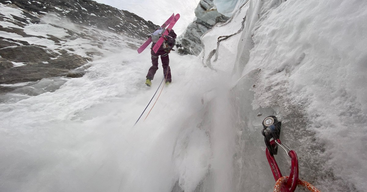 An Impressive First Descent in the Monashees