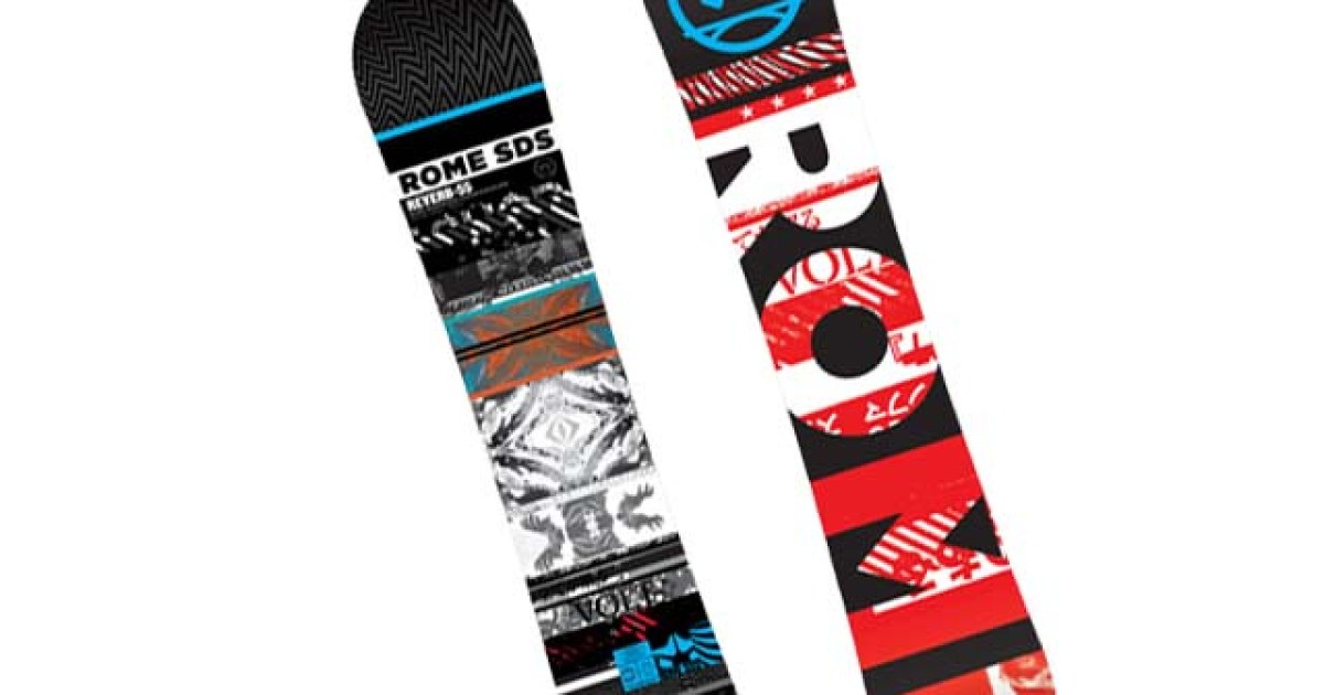 Rome Reverb Snowboard Review | TransWorld SNOWboarding