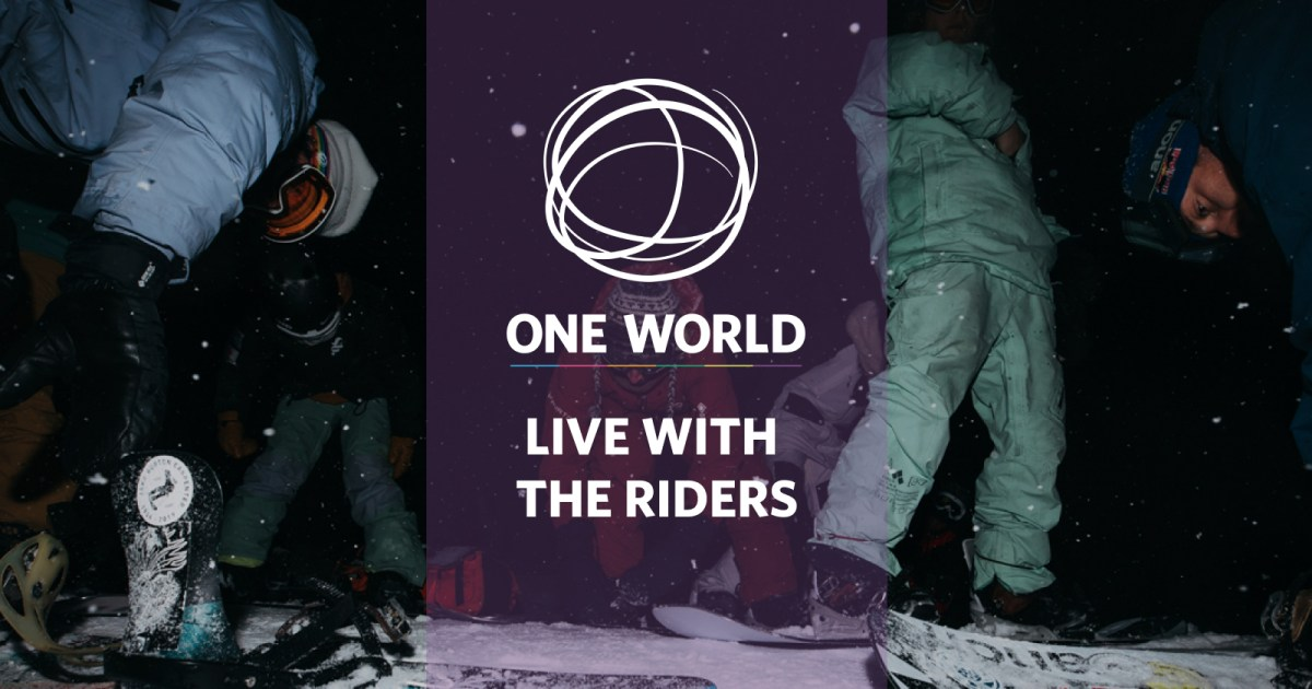 BURTON ONE WORLD: LIVE PREMIERE WITH DANNY DAVIS AND STAN!