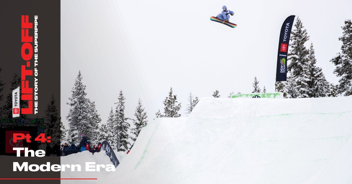 Part 4, The Modern Era | Lift-off: The Story of the Superpipe, Presented by Toyota
