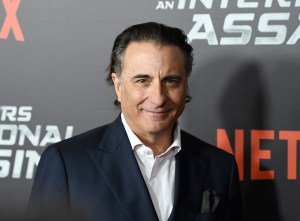 Andy Garcia attends the Netflix premiere of 'True Memoirs of An International Assassin' at AMC Lincoln Square Theatre on November 3, 2016 in New York City. / AFP / ANGELA WEISS (Photo credit should read ANGELA WEISS/AFP/Getty Images)