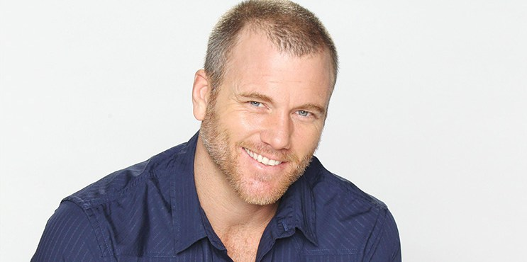 """The Young and the Restless"" Set with Sean Carrigan"