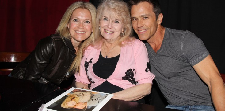Scott Reeves & Melissa Reeves at The Brokerage Comedy Club.March 31, 2012.