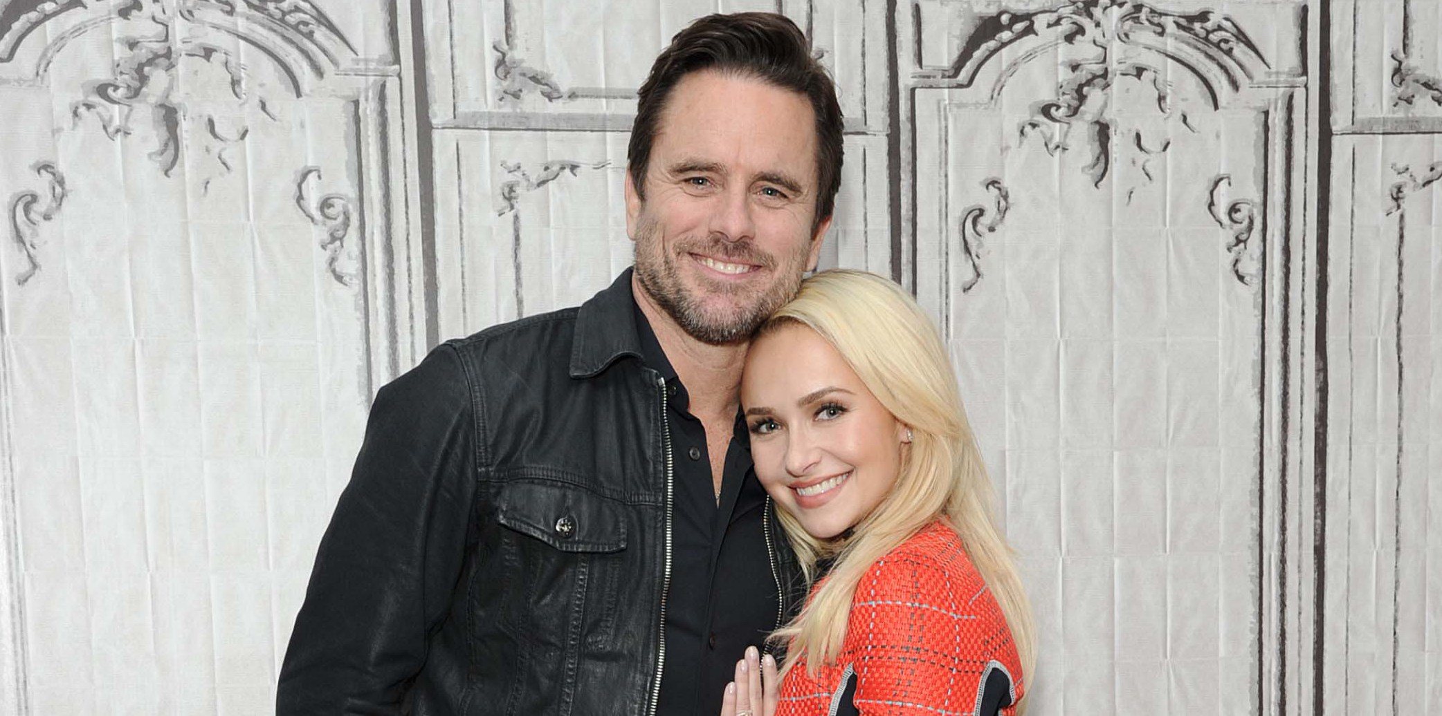 Hayden Panettiere and Charles Esten  At  Build Series