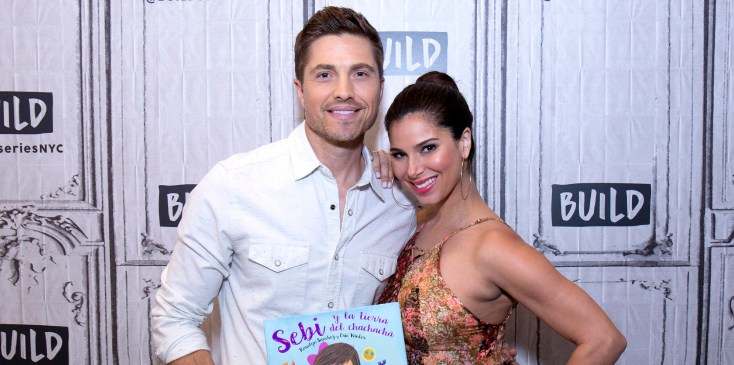 """Build Presents Roselyn Sanchez And Eric Winter Discuss Their Bilingual Children's Book """"Sebi and the Land of Cha Cha Cha"""""""