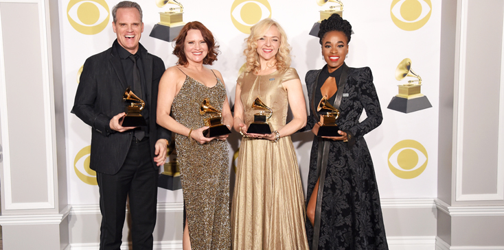 60th Annual GRAMMY Awards   Press Room