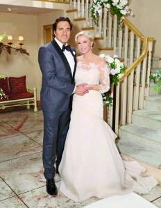 """""""The Bold and the Beautiful"""" Set Wedding"""