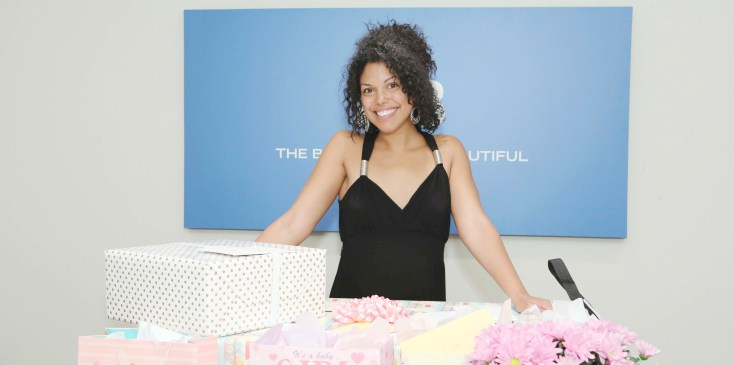 """The Bold and the Beautiful"" Set Baby Shower for Karla Mosley"